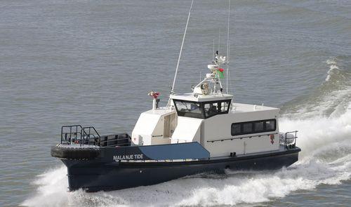 barca professionale barca per trasporto equipaggio