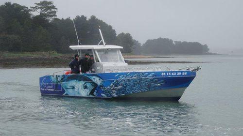 barca professionale barca per trasporto passeggeri - BORD A BORD