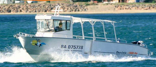 barca professionale battello turistico - BORD A BORD
