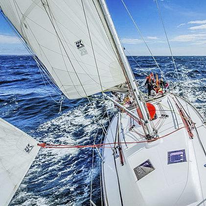randa / per barca a vela da crociera / taglio radiale / Dacron®