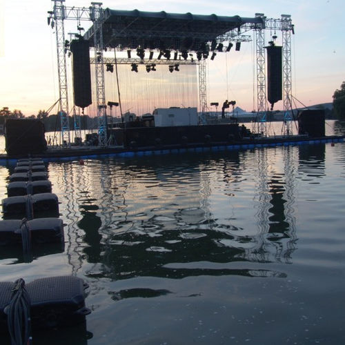 palco galleggiante