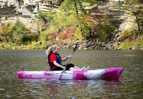 kayak sit-on-top / rigido / da turismo / 1 posto