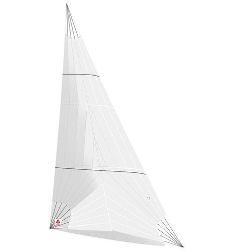 code 0 / per barca a vela da crociera / triradiale / in poliestere