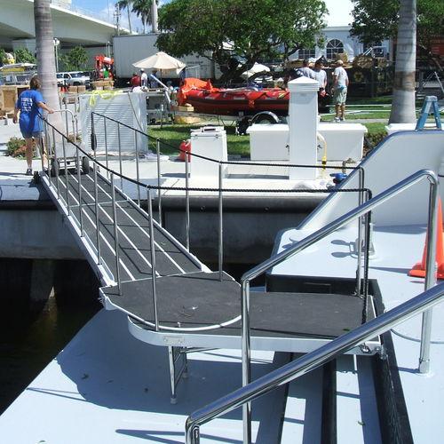 passerella di barca