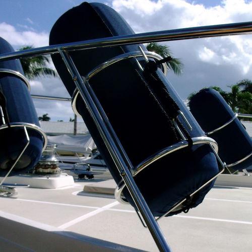 supporto parabordo per barca