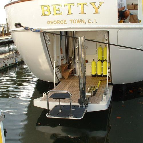 ascensore per barche