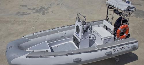 barca professionale imbarcazione di servizio / patrol boat / barca da lavoro / barca per trasporto passeggeri