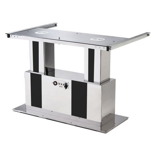 base per tavolo regolabile