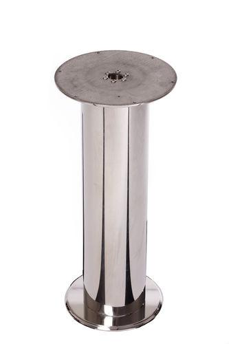 base per tavolo per barca in acciaio inox