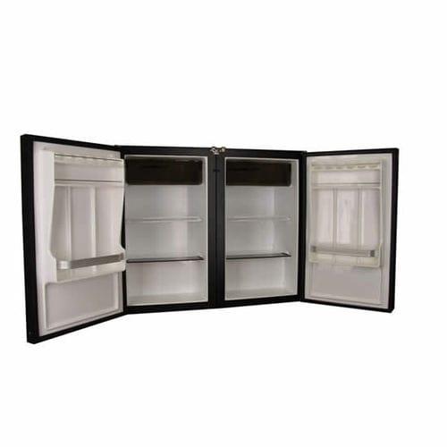 frigorifero con congelatore per barca / da incasso / su misura