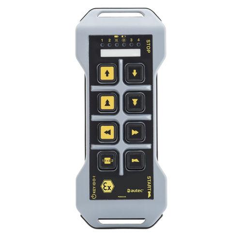 radiocomando per portale / per porto / per stazioni marittime / a pulsanti