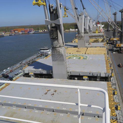 copertura per boccaporto per nave cargo / piggyback