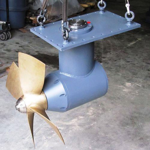 propulsore di prua / per nave / idraulico