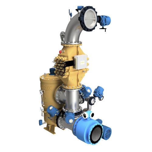 sistema di trattamento di acqua di ballast - Desmi