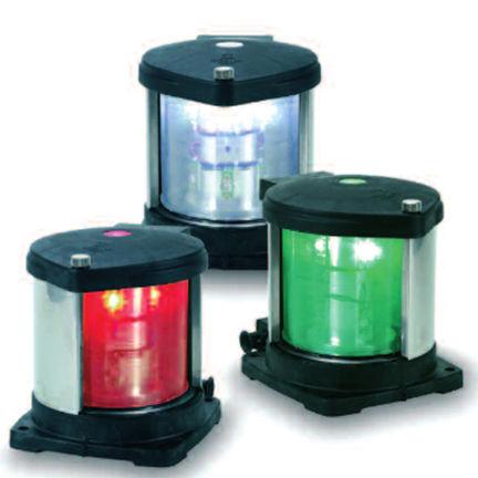 luce di navigazione per nave / LED / bianca / rossa