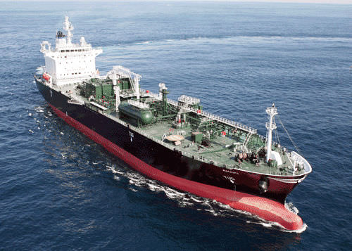 nave cargo butaniera