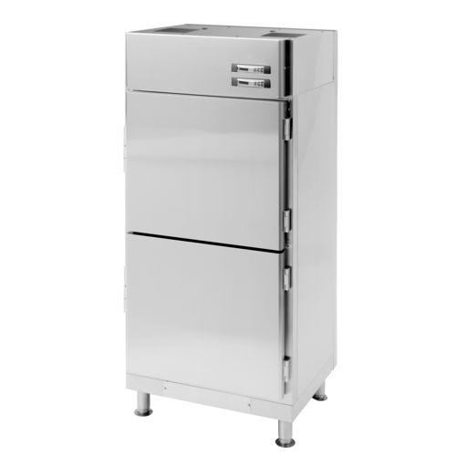 frigorifero con congelatore per barca / a libera installazione / in acciaio inox