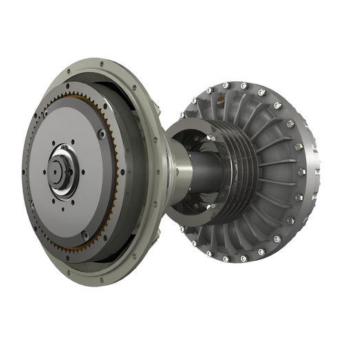 riduttore con frizione idraulica / per barca / per motore