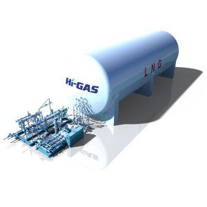 sistema di alimentazione carburante GNL