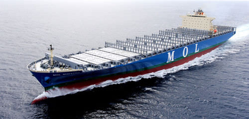 nave cargo portacontainer / post-panamax