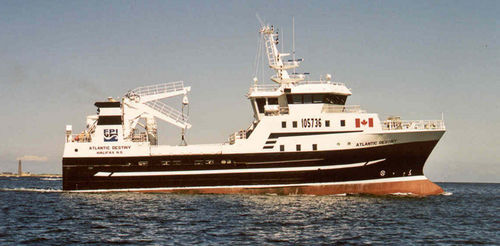 nave per ricerca alieutica