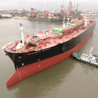 nave cargo petroliera / butaniera / VLCC