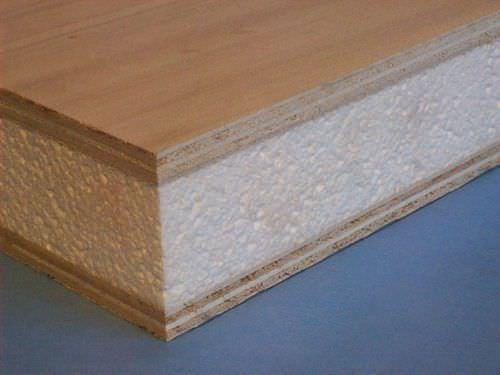 pannello sandwich per isolamento termico / in schiuma / in legno
