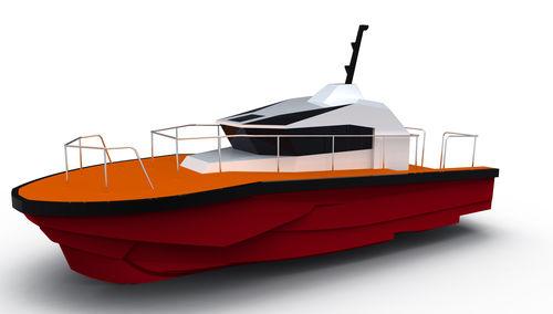 barca professionale pilotina / entrobordo