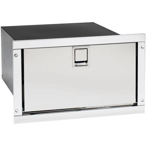 frigorifero per barca / da incasso / in acciaio inox / a cassetti