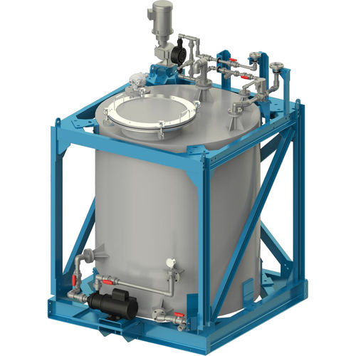 sistema di trattamento di acqua di ballast