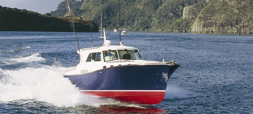cabinato entrobordo / diesel / da pesca sportiva / lobster