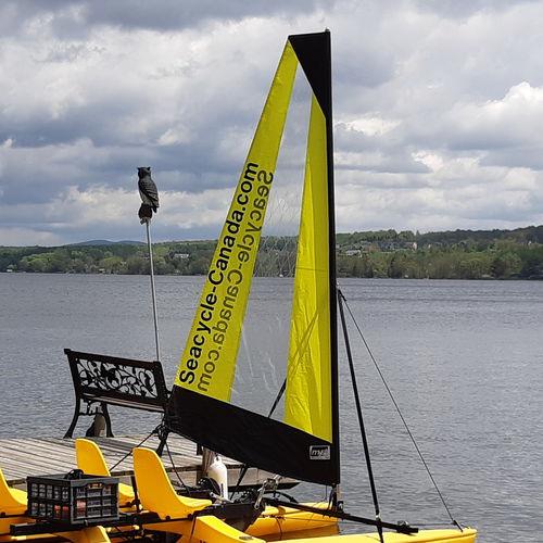 vela per kayak