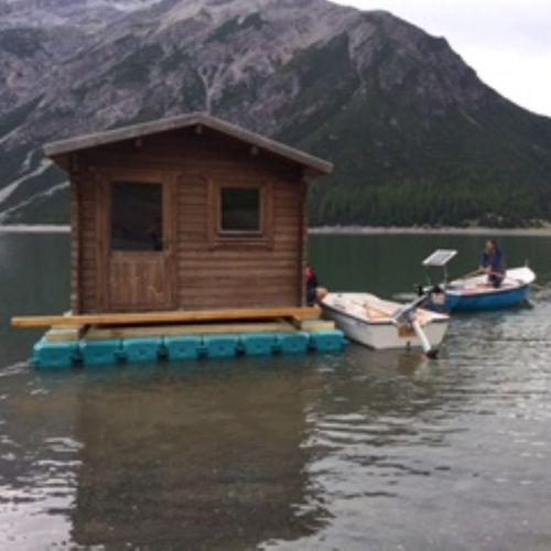 piattaforma per casa galleggiante