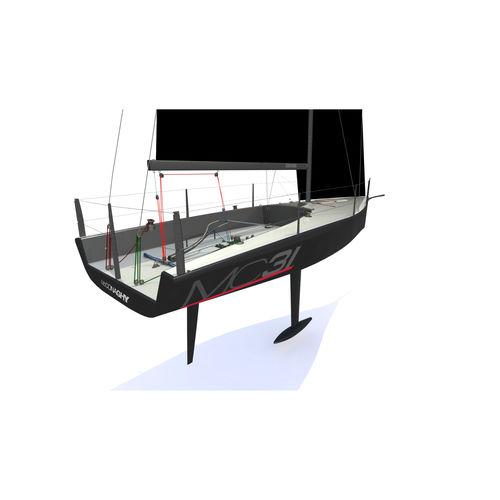 barca a vela da regata