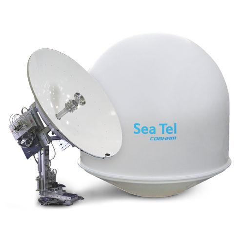 antenna TV / satellite / C-band / per barca