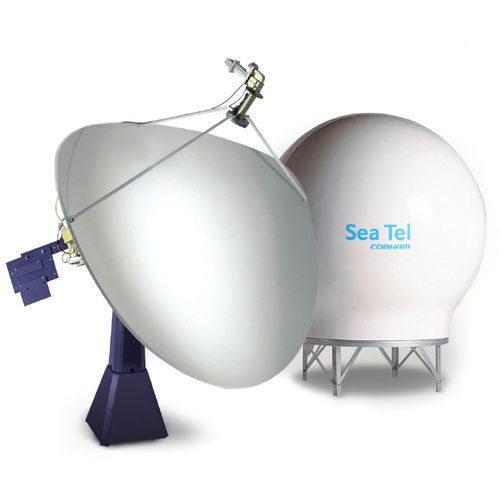 antenna VSAT / SATCOM / C-band / per barca