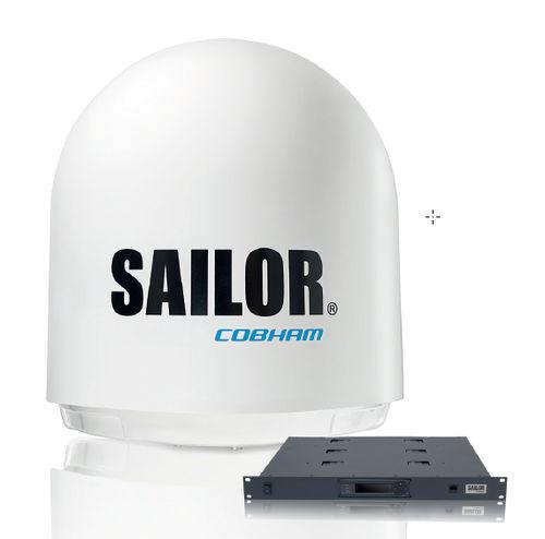 antenna VSAT / SATCOM / Ku-band / per barca