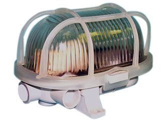 lampada per sala macchine / da interno / per nave / per yacht