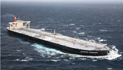 nave cargo petroliera / VLCC