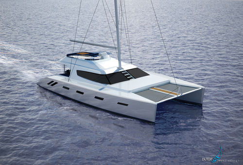sailing-yacht catamarano