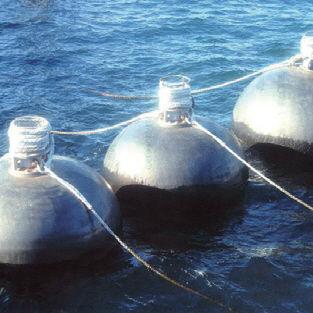 parabordi per porto / per banchina / pneumatico / idropneumatico