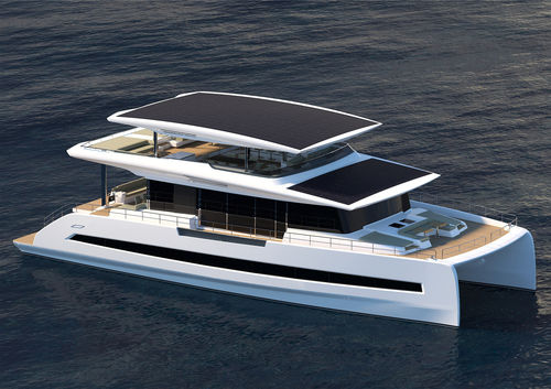 motor-yacht catamarano - SILENT-YACHTS