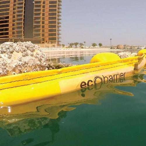 barriera anti-meduse / galleggiante