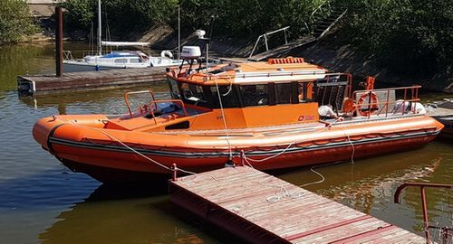 barca professionale barca da lavoro / entrobordo / in alluminio