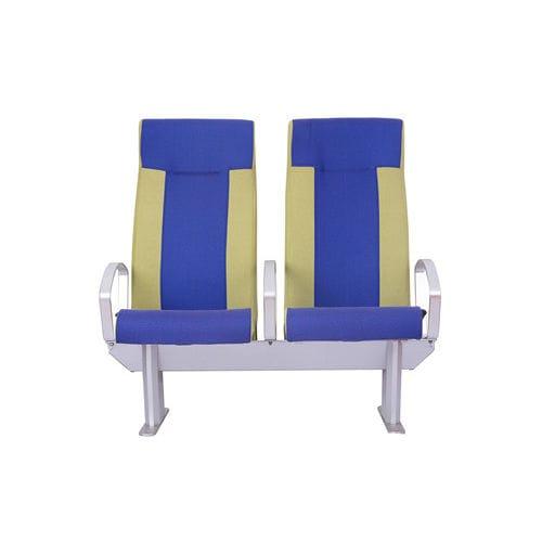 sedile per nave passeggeri / con braccioli / con schienale reclinabile / 2 posti