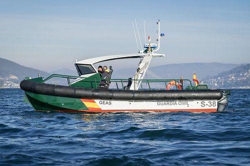 barca professionale patrol boat / fuoribordo / in alluminio / lancia