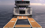 piattaforma per yacht / gonfiabile / modulare