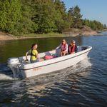 lancia fuoribordo / open / da pesca sportiva / max. 5 persone