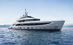 mega-yacht da crociera / raised pilothouse