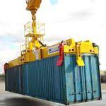 spreader per contenitori / per gru portuale mobile / telescopico / di type twin-lift